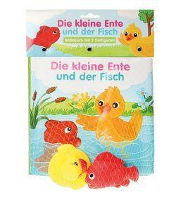 Badebuch Die kleine Ente und der Fisch