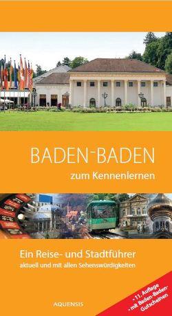 Baden-Baden zum Kennenlernen von Söhner,  Manfred, Wiesehöfer,  Gereon