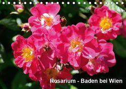 Baden bei Wien – Rosarium (Tischkalender 2019 DIN A5 quer) von J. Strutz,  Rudolf