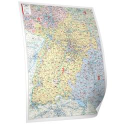 Baden-Württemberg 1:250 000 foliert und beleistet, Edition Neoballs