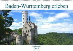 Baden-Württemberg erleben (Wandkalender 2019 DIN A2 quer) von Stoll,  Sascha