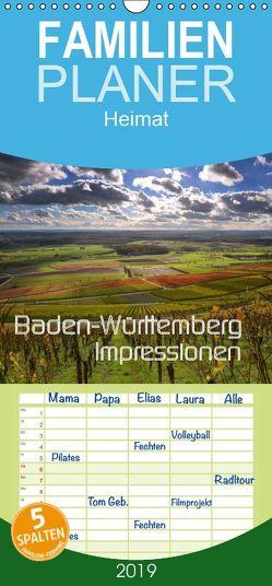 Baden-Württemberg Impressionen – Familienplaner hoch (Wandkalender 2019 , 21 cm x 45 cm, hoch) von Mathias,  Simone