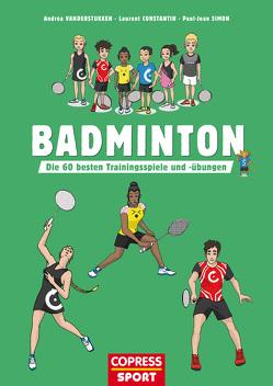 Badminton von Constantin,  Laurent, Simon,  Paul-Jean, Vanderstukken,  Andréa