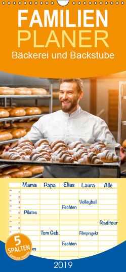 Bäckerei und Backstube 2019. Ein Kalender für Bäcker und Konditorinnen – Familienplaner hoch (Wandkalender 2019 , 21 cm x 45 cm, hoch) von Lehmann (Hrsg.),  Steffani