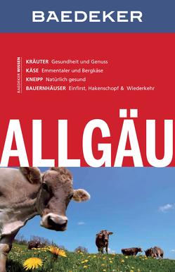 Baedeker Reiseführer Allgäu von Abend,  Dr. Bernhard