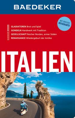 Baedeker Reiseführer Italien von Abend,  Dr. Bernhard, Schliebitz,  Anja