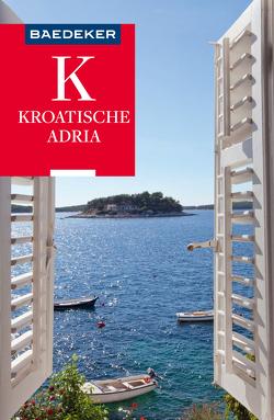 Baedeker Reiseführer Kroatische Adria von Wengert,  Veronika