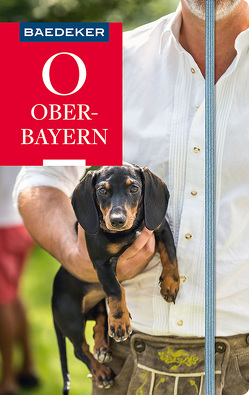 Baedeker Reiseführer Oberbayern von Abend,  Dr. Bernhard
