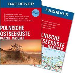 Baedeker Reiseführer Polnische Ostseeküste, Masuren, Danzig von Gawin,  Izabella, Klöppel,  Klaus, Schulze,  Dieter
