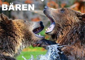 Bären (Wandkalender 2018 DIN A2 quer) von Stanzer,  Elisabeth
