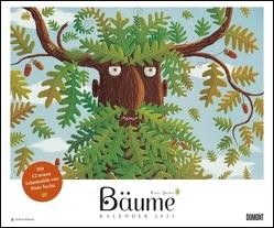 Bäume 2021 – Von Piotr Socha ‒ DUMONT Kinder-Kalender – Querformat 58,4 x 48,5 cm – Spiralbindung von Socha,  Piotr