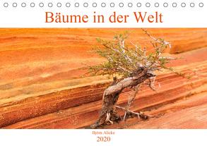 Bäume in der Welt (Tischkalender 2020 DIN A5 quer) von Alicke,  Björn