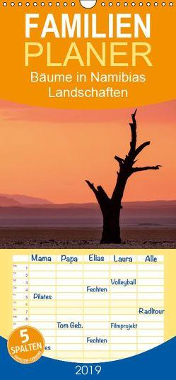 Bäume in Namibias Landschaften – Familienplaner hoch (Wandkalender 2019 , 21 cm x 45 cm, hoch) von Berger,  Anne