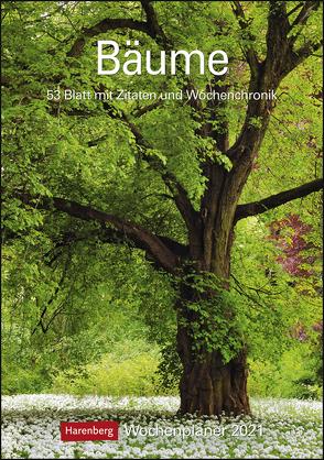 Bäume Kalender 2021 von Harenberg, Spohn,  Margot, Spohn,  Roland