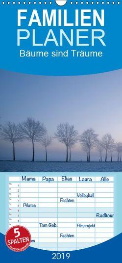 Bäume sind Träume – Familienplaner hoch (Wandkalender 2019 , 21 cm x 45 cm, hoch) von Ratzer,  Reinhold