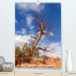 Bäume – Zeitzeugen des Lebens (Premium, hochwertiger DIN A2 Wandkalender 2021, Kunstdruck in Hochglanz) von Roth,  Martina