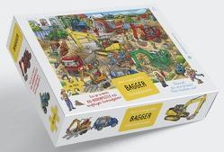 Bagger Puzzle von Walther,  Max