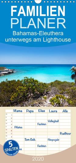 Bahamas-Eleuthera unterwegs am Lighthouse Beach – Familienplaner hoch (Wandkalender 2020 , 21 cm x 45 cm, hoch) von Petra Voß,  ppicture-