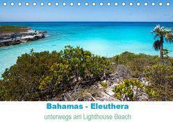 Bahamas-Eleuthera unterwegs am Lighthouse Beach (Tischkalender 2019 DIN A5 quer) von Petra Voß,  ppicture-