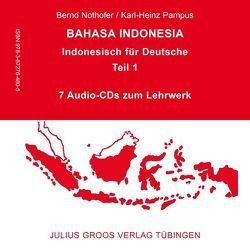 Bahasa Indonesia – Indonesisch für Deutsche (Teil 1) von Nothofer,  Bernd, Pampus,  Karl-Heinz
