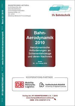 Bahn-Aerodynamik 2010 von Schulz,  Eckhard