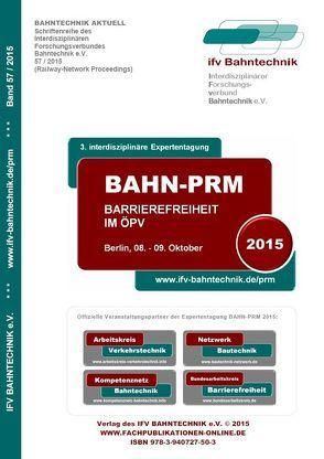 BAHN-PRM 2015 von Schulz,  Eckhard