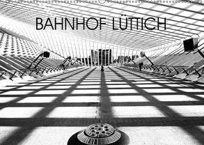 Bahnhof Lüttich (Wandkalender 2018 DIN A2 quer) von Verfürth,  Simone