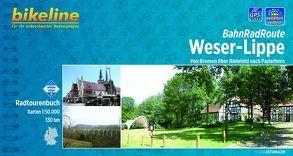 BahnRadRoute Weser-Lippe von Esterbauer Verlag