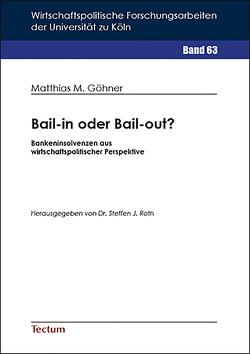 Bail-in oder Bail-out? von Göhner,  Matthias M.