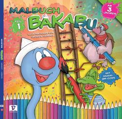BAKABU Malbuch 1 von Lederer,  Cecile M., Schweng,  Manfred