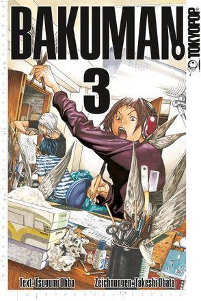 Bakuman. 03 von Obata,  Takeshi, Ohba,  Tsugumi