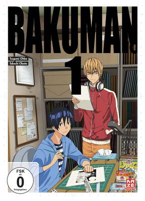 Bakuman – 1. Staffel – DVD 1 von Akitaya,  Noriaki, Kasai,  Kenichi