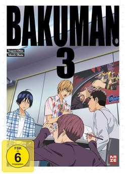 Bakuman – 1. Staffel – DVD 3 von Akitaya,  Noriaki, Kasai,  Kenichi