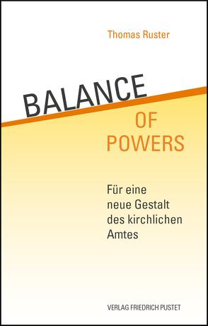 Balance of Powers von Ruster,  Thomas