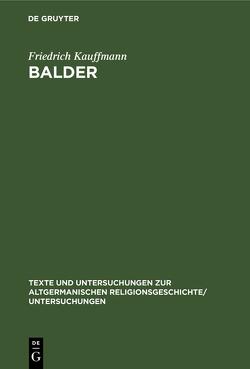 Balder von Kauffmann,  Friedrich