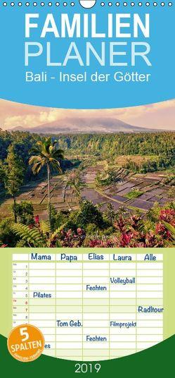 Bali – Insel der Götter – Familienplaner hoch (Wandkalender 2019 , 21 cm x 45 cm, hoch) von Becker,  Stefan