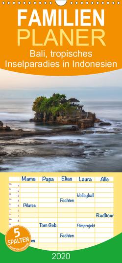 Bali, tropisches Inselparadies in Indonesien – Familienplaner hoch (Wandkalender 2020 , 21 cm x 45 cm, hoch) von Kruse,  Joana