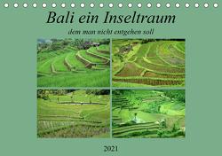 Bali,ein Inseltraum dem man nicht entgehen sollte. (Tischkalender 2021 DIN A5 quer) von Rufotos