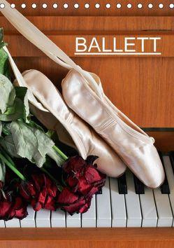 Ballett (CH-Version) (Tischkalender 2018 DIN A5 hoch) von Jäger,  Anette/Thomas