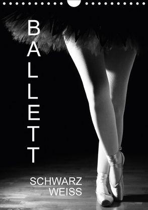 Ballett SchwarzweissAT-Version (Wandkalender 2018 DIN A4 hoch) von Jäger,  Anette/Thomas