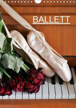 Ballett (Wandkalender 2019 DIN A4 hoch) von Jäger,  Anette/Thomas
