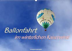 Ballonfahrt im winterlichen Kaiserwinkl (Wandkalender 2021 DIN A2 quer) von Haafke,  Udo