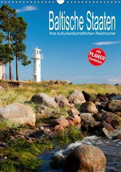 Baltische Staaten – Ihre kulturlandschaftlichen Reichtümer (Wandkalender 2019 DIN A3 hoch) von Hallweger,  Christian