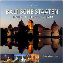 Baltische Staaten – Litauen, Lettland, Estland von Pompetzki,  Stefan
