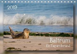 Baltrum – Ein Tag am Strand (Tischkalender 2019 DIN A5 quer) von Heizmann bildkunschd,  Thomas