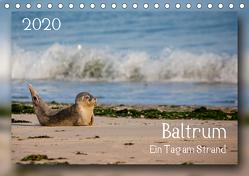 Baltrum – Ein Tag am Strand (Tischkalender 2020 DIN A5 quer) von Heizmann bildkunschd,  Thomas