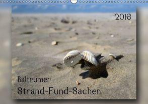 Baltrumer Strand-Fund-Sachen (Wandkalender 2016 DIN A3 quer) von Heizmann - bildkunsch,  Thomas