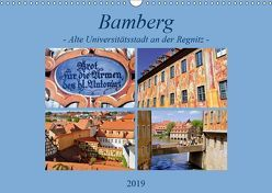 Bamberg – Alte Universitätsstadt an der Regnitz (Wandkalender 2019 DIN A3 quer) von Thauwald,  Pia
