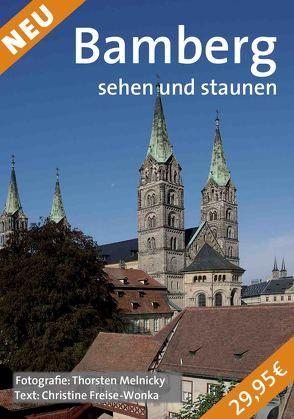 Bamberg sehen und staunen von Freise-Wonka,  Christine, Melnicky,  Thorsten