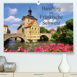 Bamberg und Fränkische Schweiz (Premium, hochwertiger DIN A2 Wandkalender 2021, Kunstdruck in Hochglanz) von LianeM